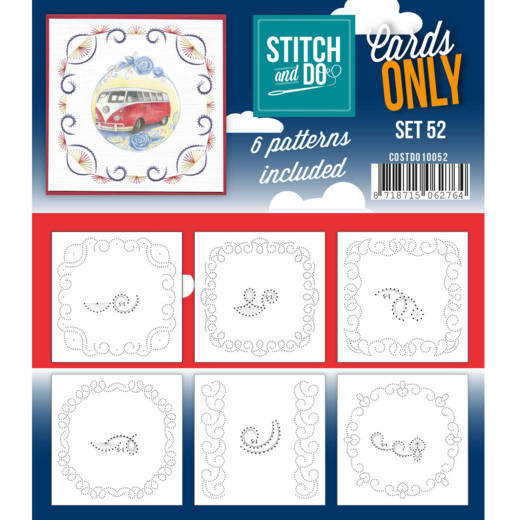 COSTDO10052 Cards only Stitch 52