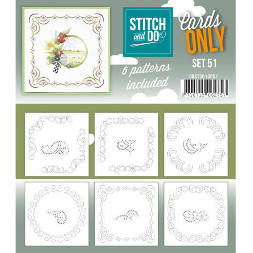COSTDO10051 Cards only Stitch 51