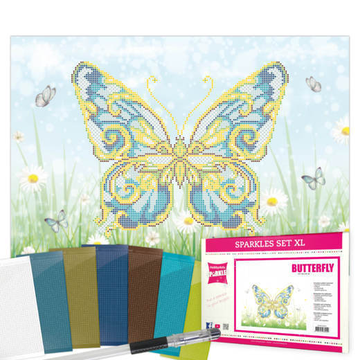SPPK10002 Sparkles Set XL Butterfly