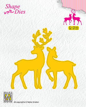 SD169 Shape Dies Deer