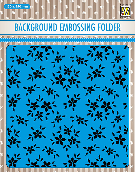 EEB019 Background embossing folders Small flowers