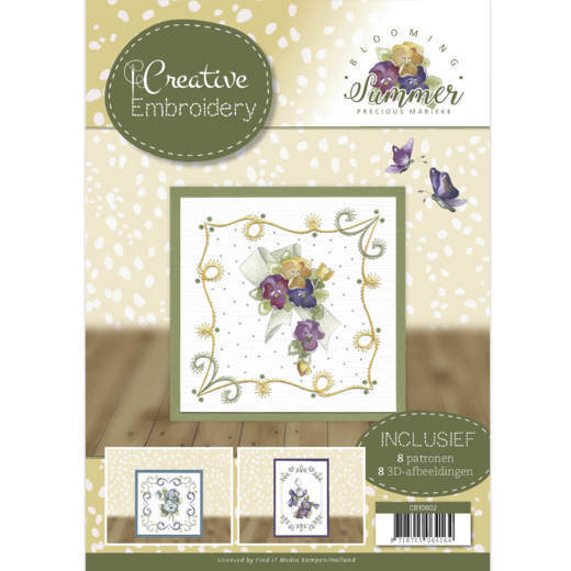 CB10002 Creative Embroidery 2 - Precious Marieke - Blooming Summer