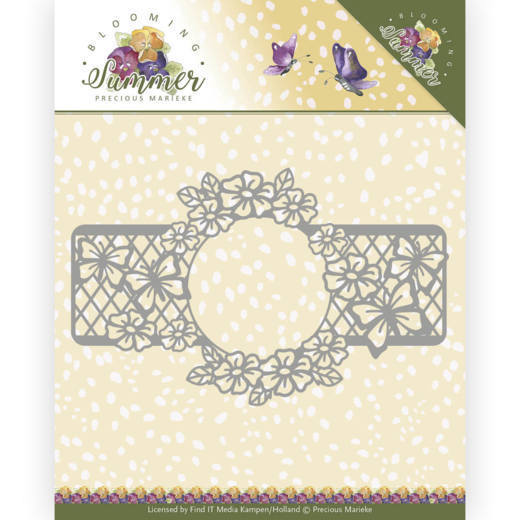 PM10158 Dies - Precious Marieke - Blooming Summer - Blooming Border