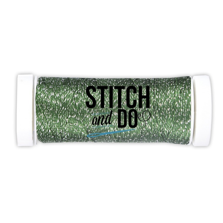 SDCDS07 Stitch and Do Sparkles Embroidery Thread Forest Green