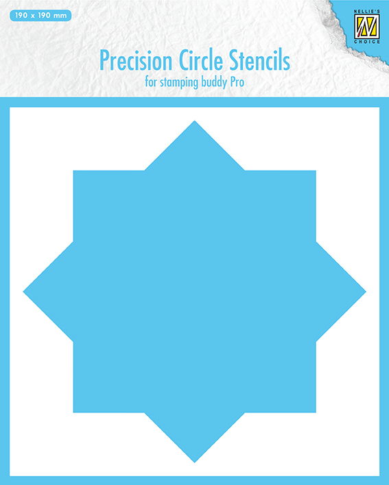 MMPCS001 Precision cicle stencils 8-point circle (for stampingbuddy-pro)