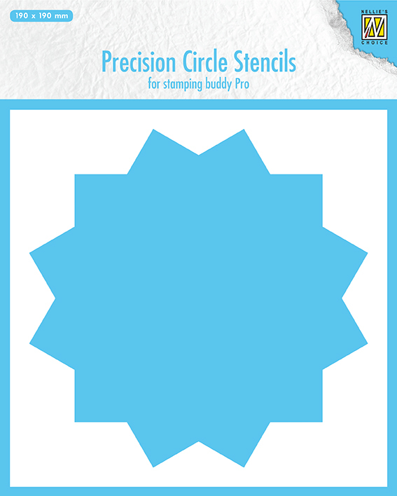 MMPCS002 Precision cicle stencils 12-point circle (for stampingbuddy-pro)