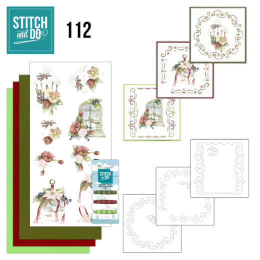 STDO112 Stitch and Do 112 Warm Christmas Feelings