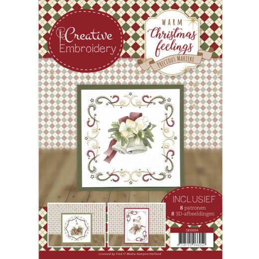 CB10004 Creative Embroidery - Precious Marieke - Warm Christmas Feelings (HJ173)