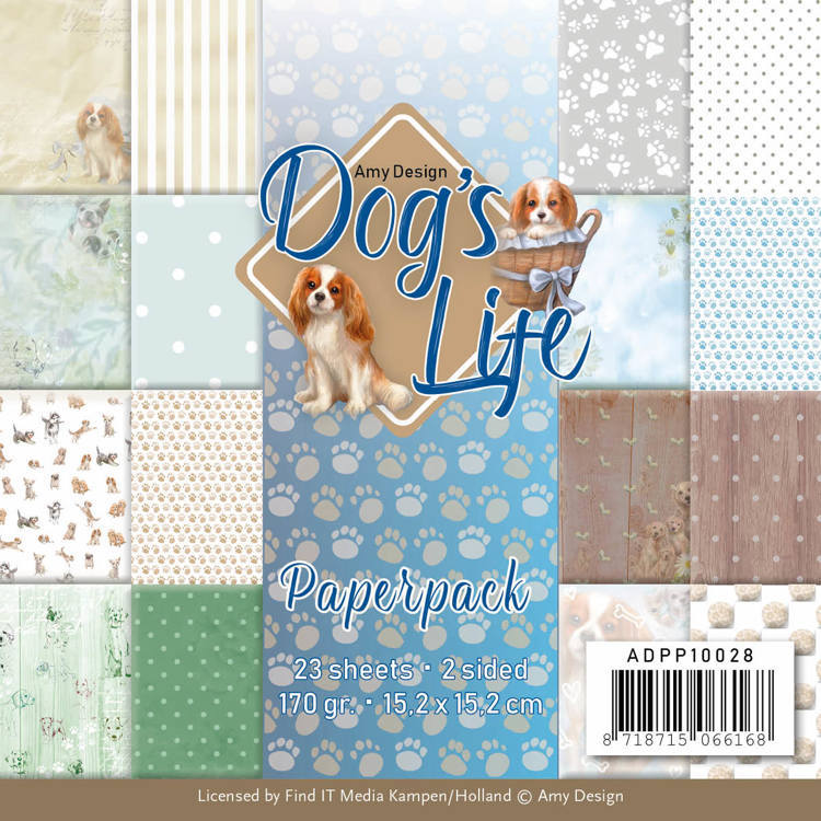 ADPP10028 Paperpack - Amy Design - Dog's Life