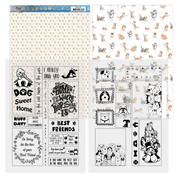 ADMC1004 Mica Sheets - Amy Design - Dog's Life