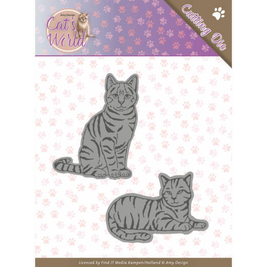 ADD10187 Dies - Amy Design - Cats - Sweet Cats