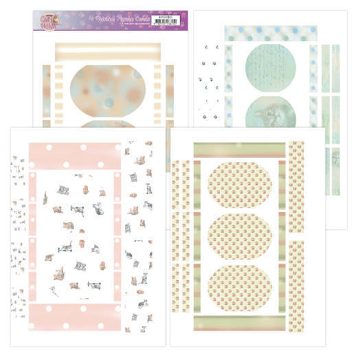 ADFC10004 Printed Figure Cards - Amy Design - Cats World