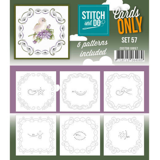 COSTDO10057 Cards only Stitch 57