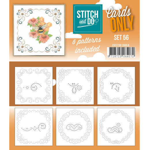 COSTDO10056 Cards only Stitch 56