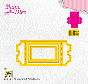 SD170 Shape Dies ticket & tags: ticket-1