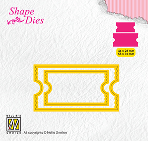 SD171 Shape Dies ticket & tags: ticket-2