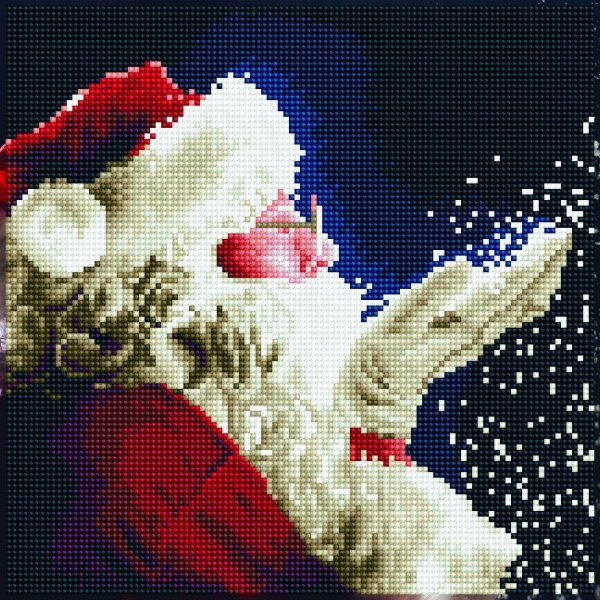 51138 DIAMOND ART - 30.5x30.5cm - Kits Santa