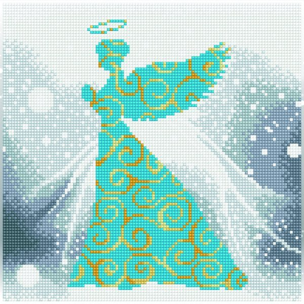 51148 DIAMOND ART - 30.5x30.5cm - Kits Angel