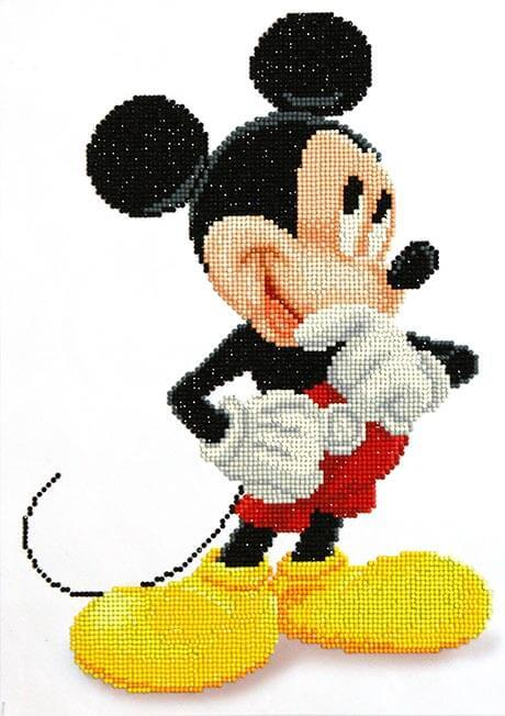 CD852700105 Camelot DOTZ® - 31cmx43cm - Mickey Wonders Diamond Painting Kit