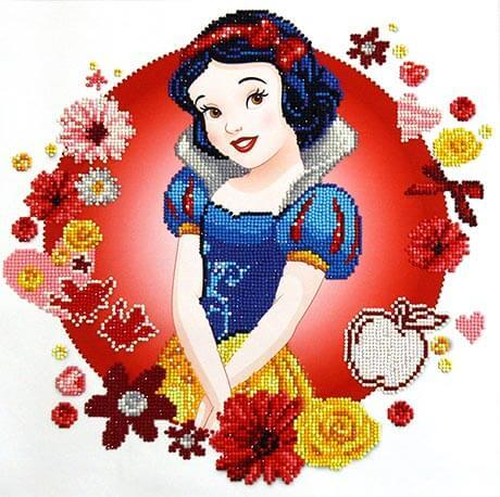 CD851000207 Camelot Dotz - 40cmx40cm Snow White's World Diamond Painting Kit