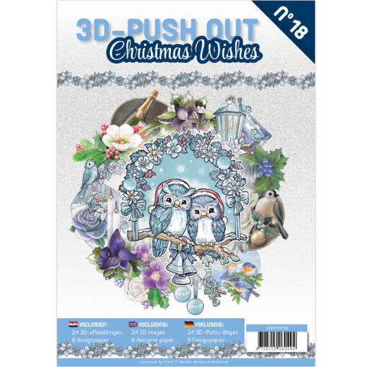 3DPO10018 3D Pushout Book 18 Christmas Wishes