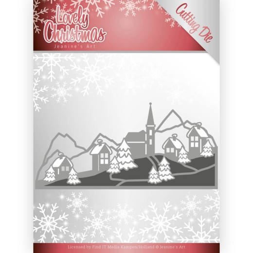 JAD10079 Dies - Jeanine's Art - Lovely Christmas - Lovely Christmas Landscape (HJ174)
