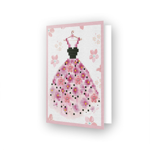 DDG.018 DIAMOND DOTZ® - 12.6x17.7 cm - Greeting Card PARTY TIME