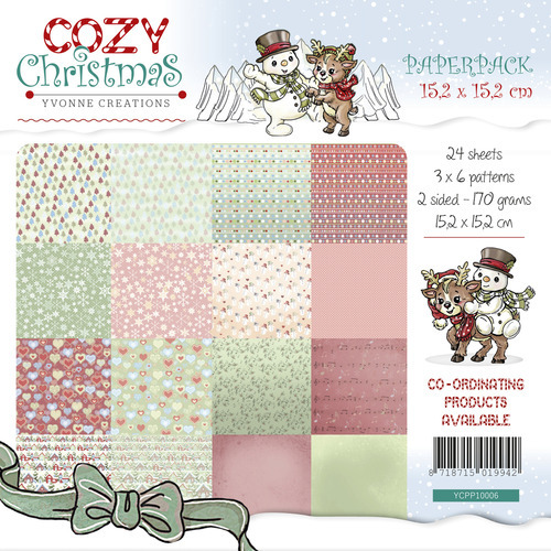YCPP10006 Paperpack - Yvonne Creations - Cozy Christmas