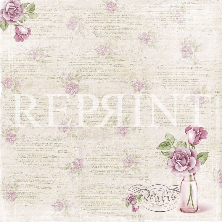 RP0271 Lilac Paris Collection 12x12 Rose
