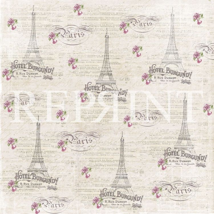 RP0272 Lilac Paris Collection 12x12 Paris