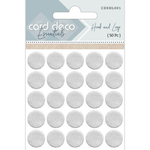 CDEHL001 Card Deco Essentials - Hook and Loop ( 50 Pc )