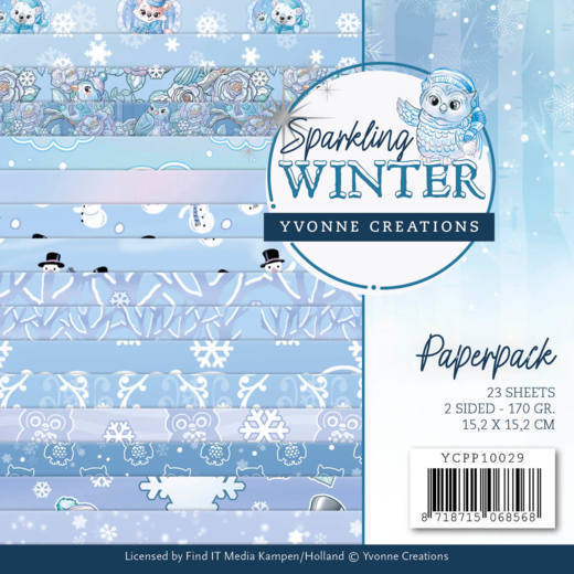 YCPP10029 Paperpack - Yvonne Creations - Sparkling Winter (HJ176)