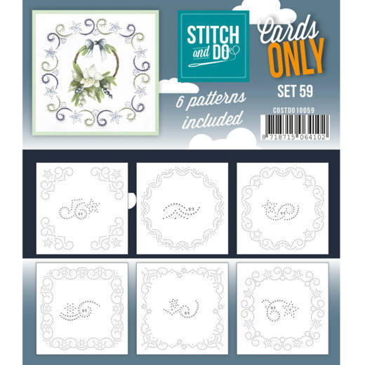 COSTDO10059 Cards only Stitch 59