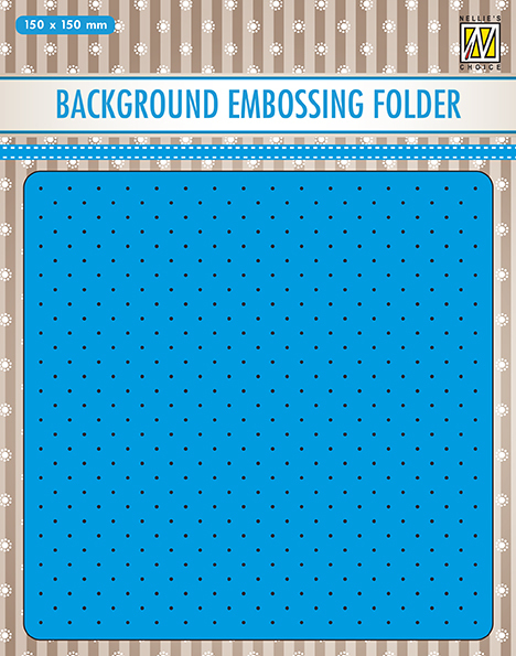 EEB028 Background embossing folders small dots