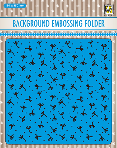 EEB029 Background embossing folders Fluff