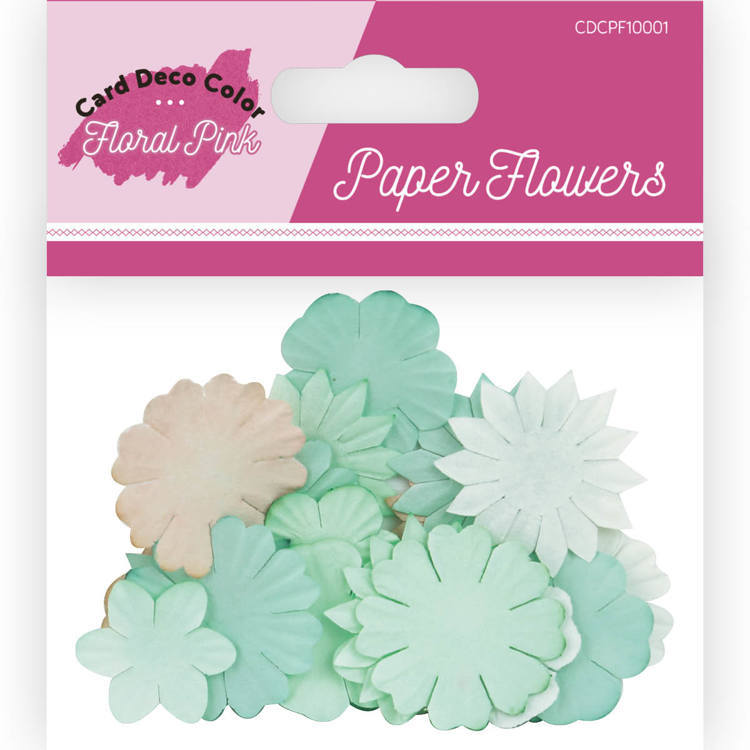 CDCPR10001 Paper Roses - Yvonne Creations - Floral Pink
