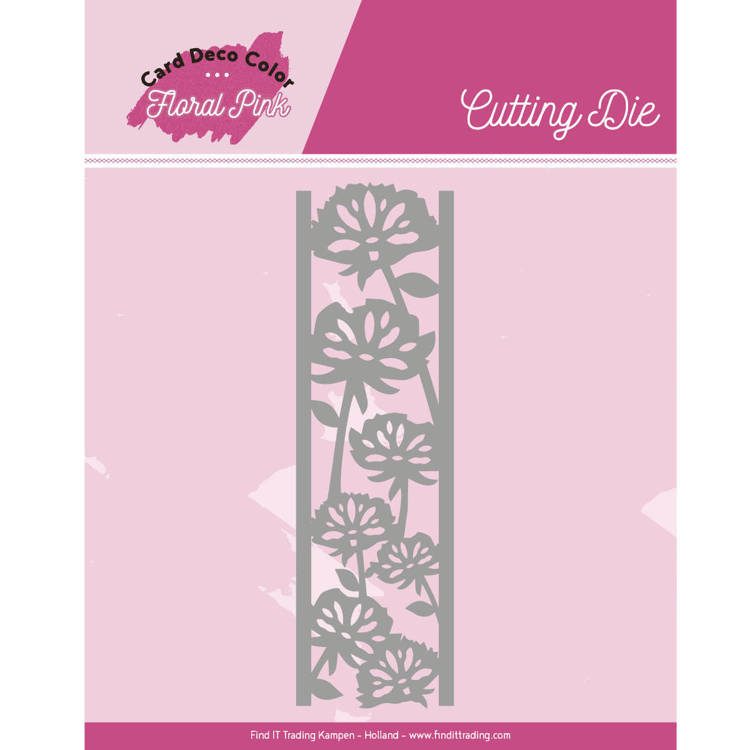 CDCCD10004 Dies - Yvonne Creations - Floral Pink - Floral Pink Border