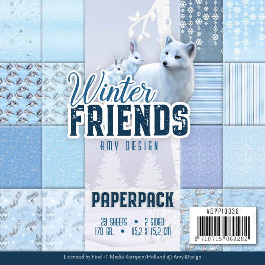 ADPP10030 Paperpack - Amy Design - Winter Friends (HJ177)