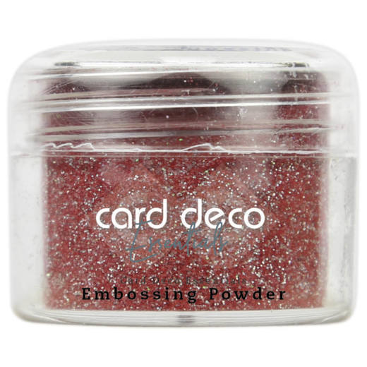 CDEEP007 Card Deco Essentials - Embossing Powder Glitter Red 30 Gr