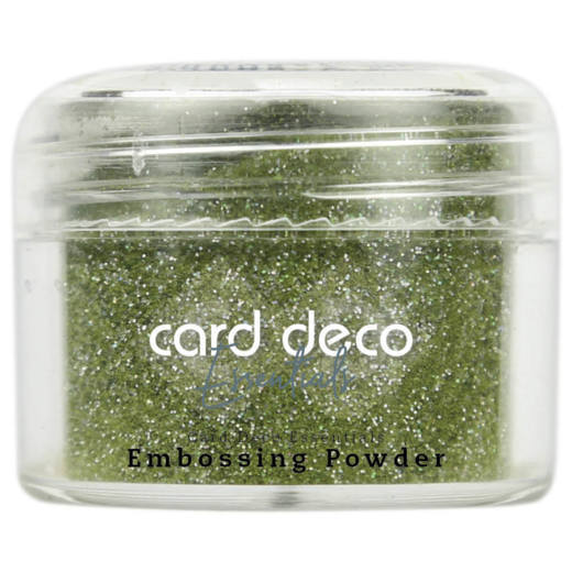 CDEEP011 Card Deco Essentials - Embossing Powder Glitter Green 30 Gr