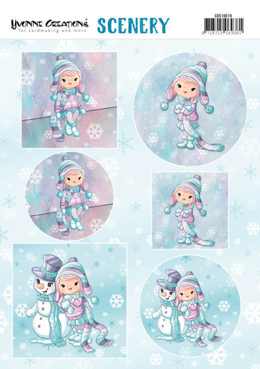 CDS10015 Scenery - Yvonne Creations Lola Winterfun