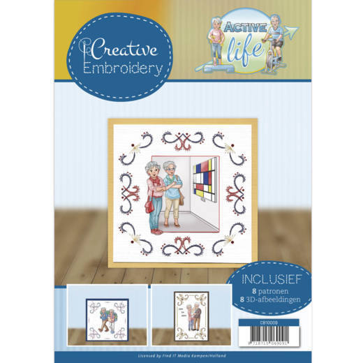 CB10009 Creative Embroidery 9 - Yvonne Creations - Active Life (HJ178)