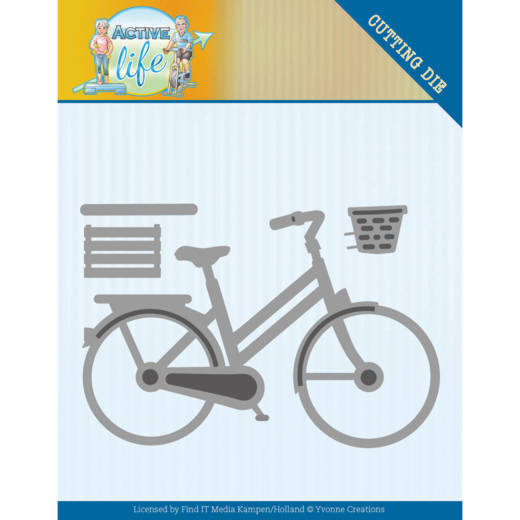 YCD10195 Dies - Yvonne Creations - Active Life - Bicycle (HJ178)