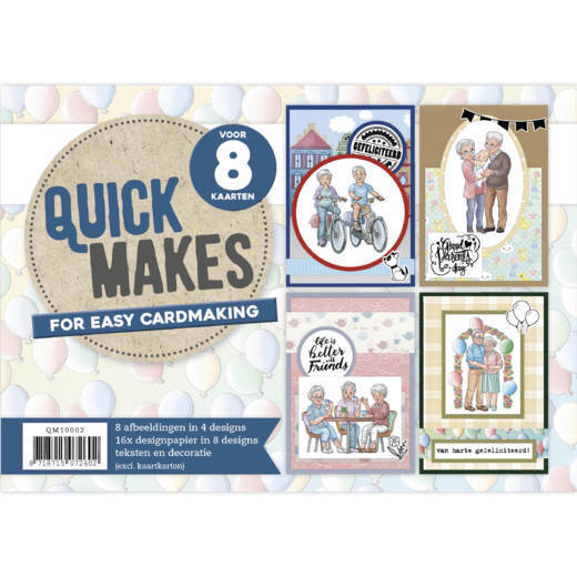QM10002 Quick Makes - Yvonne Creations - Active Life (HJ178)