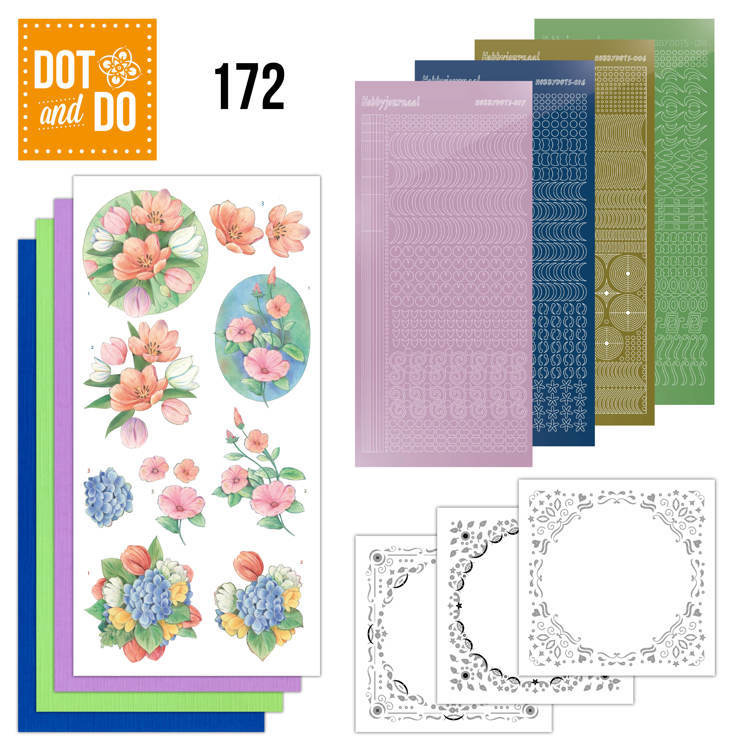 DODO172 Dot and Do 172 - Aquarel Tulpen en meer