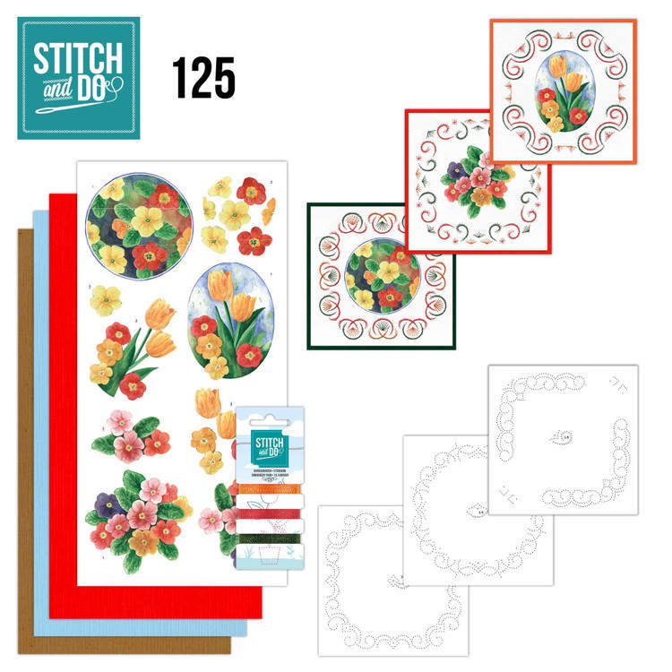 STDO125 Stitch and Do 125 - Spring Flowers