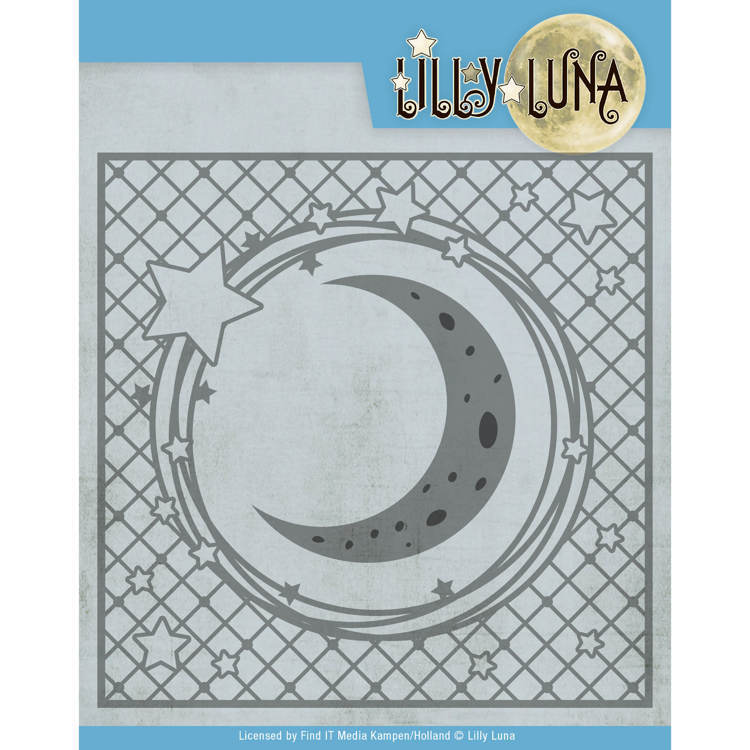 LL10005 Snijmal- Lilly Luna - Stars and Moon Frame (HZP34)