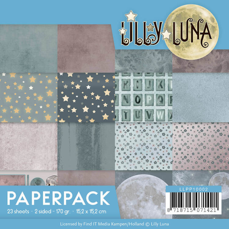 LLPP10002 Paperpack - Lilly Luna (HZP34)
