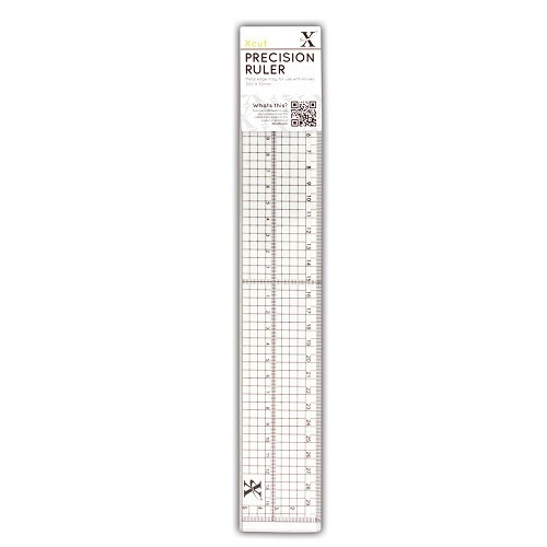 XCU 255301 30cm Precision Ruler (Metal Edge Inlay)