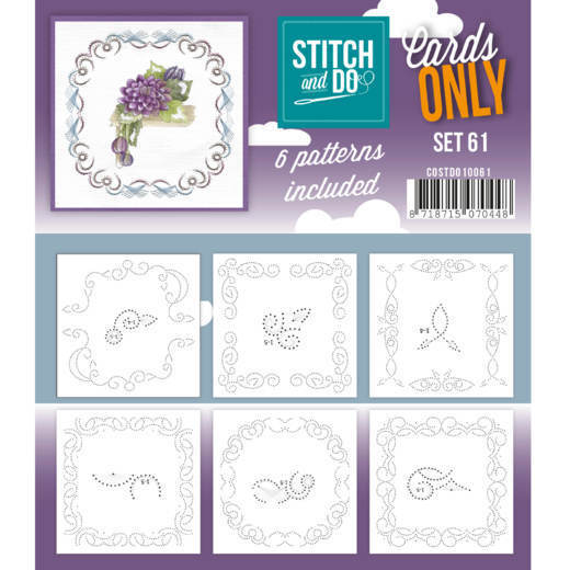 COSTDO10061 Cards Only Stitch 4K - 61
